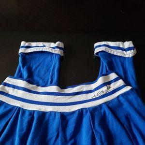 Junior Gaultier Blue White Striped Joggers
